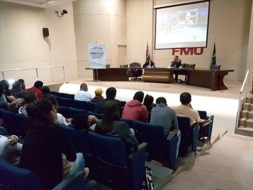 Público atento à apresentação de Pablo Toledo, que está na Record há quase dez anos. Foto: Marcelo Salgado