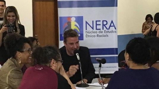 Evento do NERA em homenagem ao Dia da Consciência, organizado pela Prof. Maria Lúcia agita o campus Morumbi. Crédito: Fabíola Tarapanoff