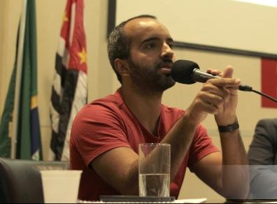 João Ricardo Penteado, coordenador de comunicação da Artigo 19 ((crédito: Rachel de Brito)
