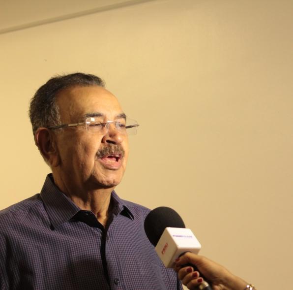 Percival de Souza, comentarista da Rede Record (crédito: Rachel de Brito)