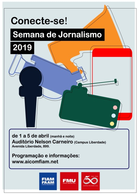 Semana de jornalismo cartaz 2019
